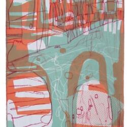 Collograph on paper 38x16cm